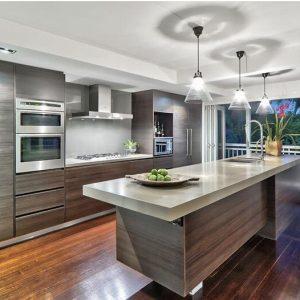 Wood Veneer Kitchen Cabinets – VC CUCINE China, kitchen cabinet ...